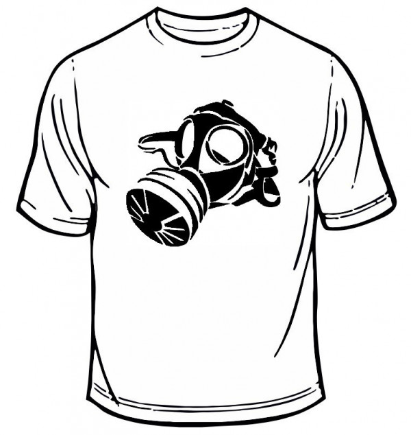 Imagens T-shirt - Máscara de Gás