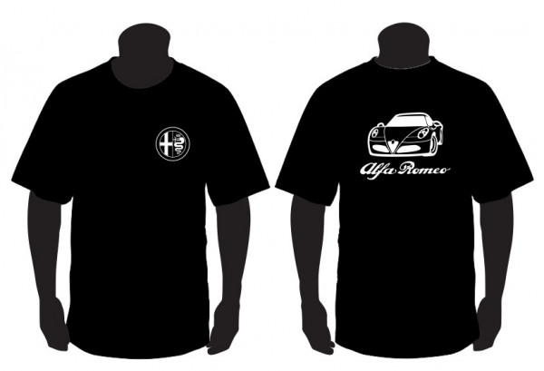 Imagens T-shirt para Alfa Romeu 4C