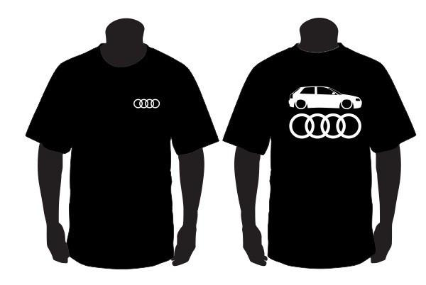 Imagens T-shirt para Audi A3 8L