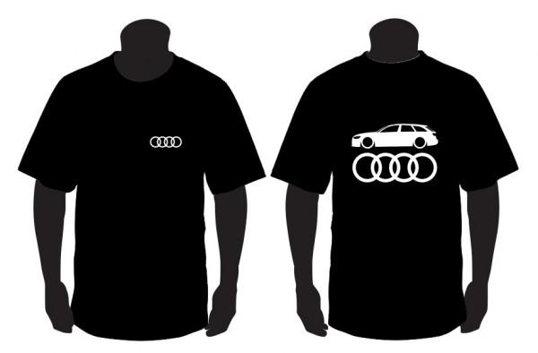 Imagens T-shirt para Audi A6 C7 Avant