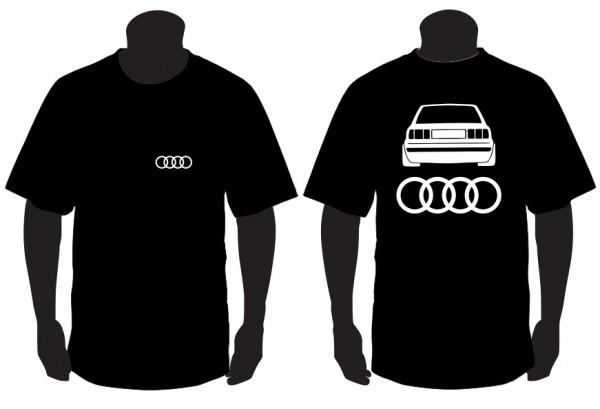 Imagens T-shirt para Audi A80 Traseira