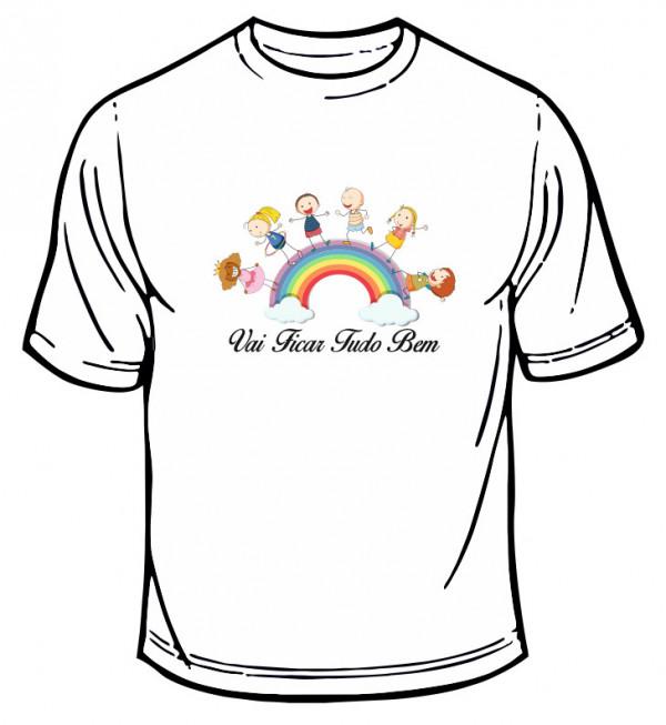 Imagens T-shirt - Vai Ficar Tudo Bem