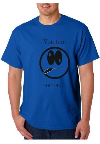Imagens T-shirt  -  You Turn Me On
