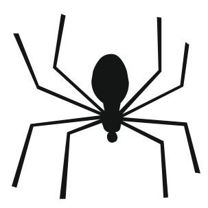 Autocolante - Aranha 7