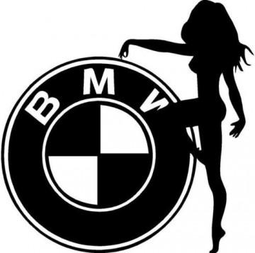 Autocolante - Bmw Sexy