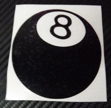 Autocolante - Bola 8
