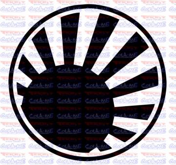 Autocolante - Bola Japão