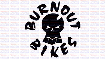 Autocolante - Burnaout bikes