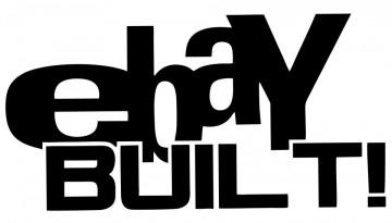 Autocolante com Ebay Built