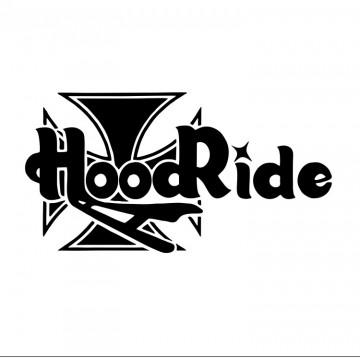Autocolante com Hood ride