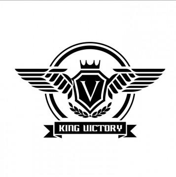 Autocolante com King Victory