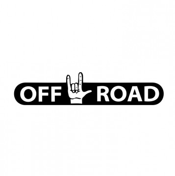 Autocolante com Off Road