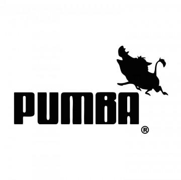 Autocolante com Pumba