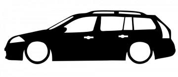 Autocolante com Renault Megane 2 break