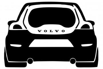 Autocolante com Volvo C30