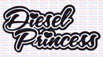 Autocolante - Diesel Princess