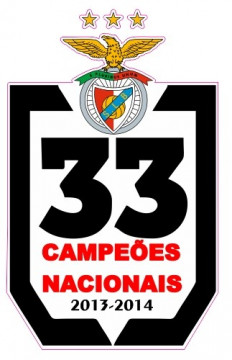 Autocolante Impresso - Benfica Campeões Nacionais - 33
