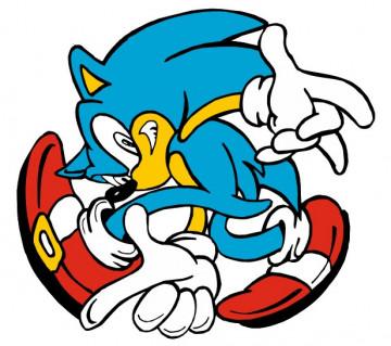 Autocolante Impresso - Sonic