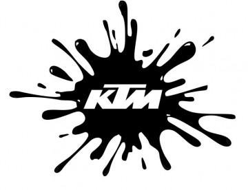 Autocolante - KTM Splash