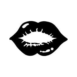 Autocolante - Lábios