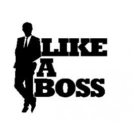 Autocolante - Like a Boss 2