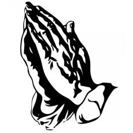 Autocolante - Mão de Santo