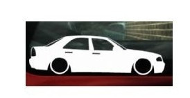 Autocolante - Mercedes C W202