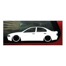 Autocolante - Mitsubishi Galant