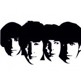 Autocolante Música - The Beatles 2