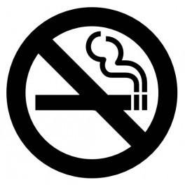 Autocolante - No Smoking