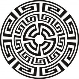Autocolante - Padrão Azteca 1