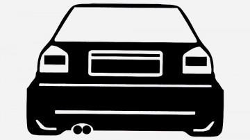 Autocolante para Audi A3 8L Facelift