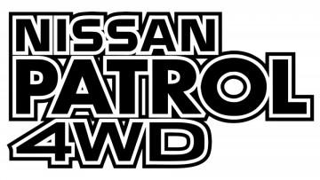 Autocolante para Nissan Patrol 4WD