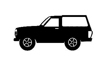 Autocolante para Nissan Patrol W240
