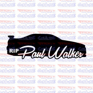 Autocolante - Paul Walker RIP