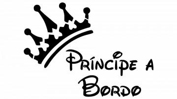 Autocolante - Principe a Bordo