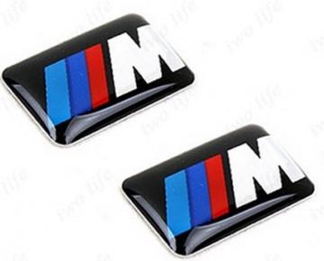 Autocolante Resinado 3D para BMW M  (Pack de 2 unidades)