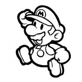 Autocolante - Super Mário
