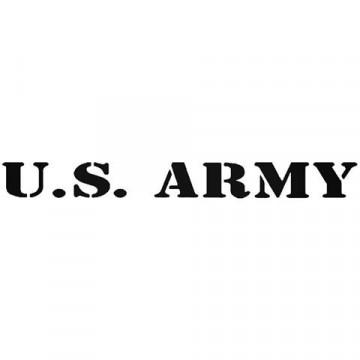 Autocolante - U.S.ARMY