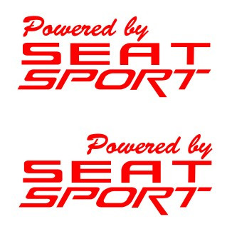 Autocolantes - Powered by Seat Sport