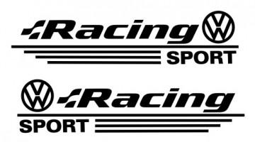 Autocolantes - Volkswagen Racing Sport