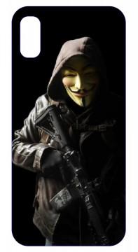 Capa de telemóvel com Anonymous