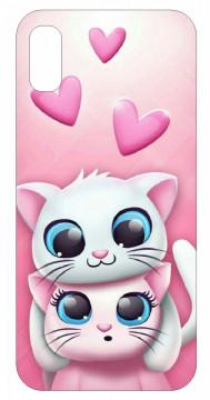 Capa de telemóvel com Cat Love
