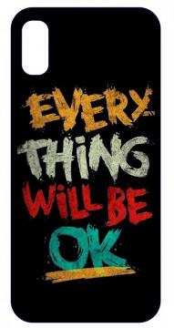 Capa de telemóvel com Every Thing will Be Ok   ct115
