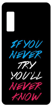 Capa de telemóvel com If You Never