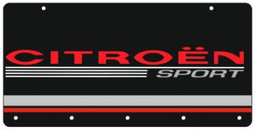Chaveiro em Acrílico com Citroen Sport