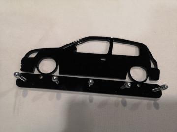 Chaveiro em Acrílico com Renault Clio 2 - Fase 2