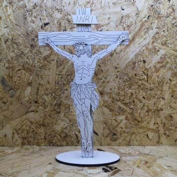 Cruz de Cristo em MDF