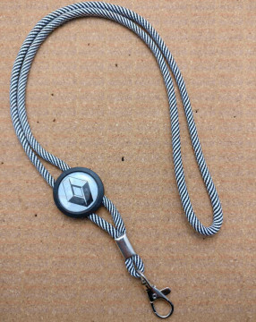 Fita (lanyard) de Pescoço Ajustável para Renault