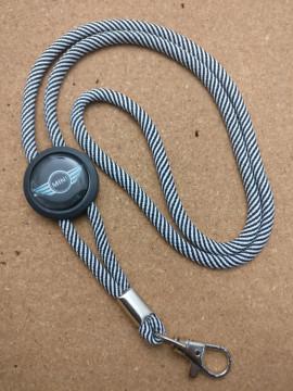 Fita Porta Chaves (lanyard) de Pescoço Ajustável para  Mini